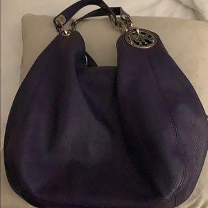 Michael Kors Plum Hobo Bag